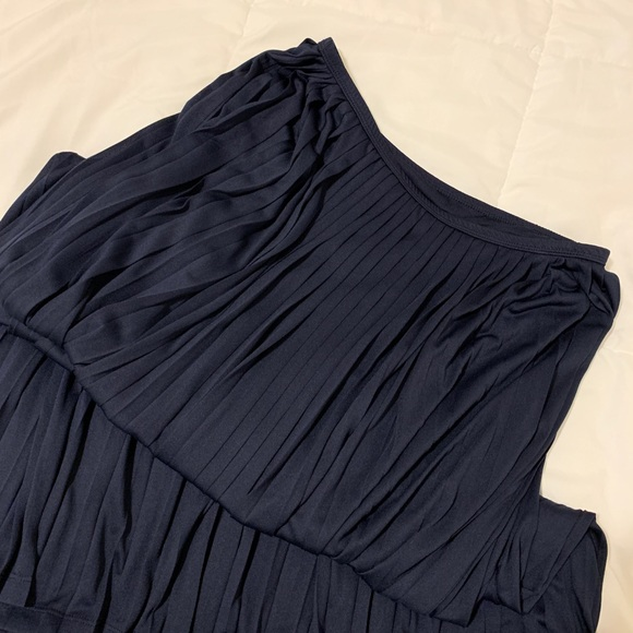 Mossimo Supply Co. Dresses & Skirts - {SOLD} NEW Navy Pleated Maxi Skirt